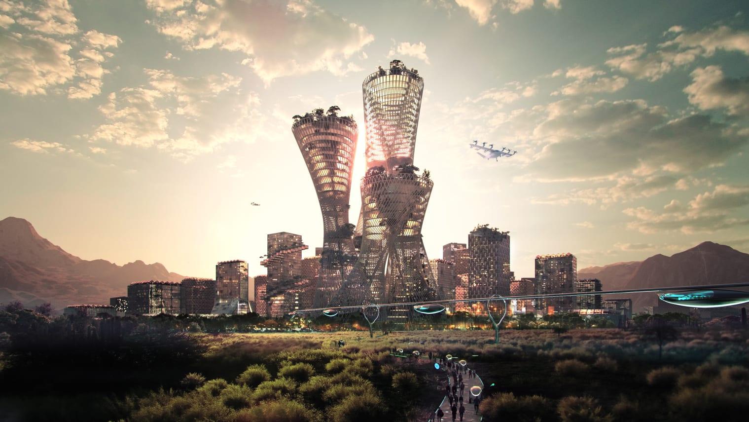 مدينة جديدة في الصحراء الأمريكية تبلغ تكلفتها 400 مليار دولار