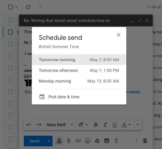 Gmail: كيف تجدول رسالة للإرسال لاحقا في 4 خطوات بسيطة
