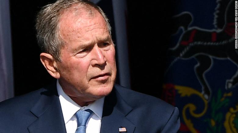 ترامب يصف جورج بوش الابن بالفاشل والغير ملهم