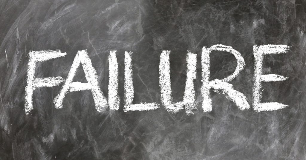 الفشل