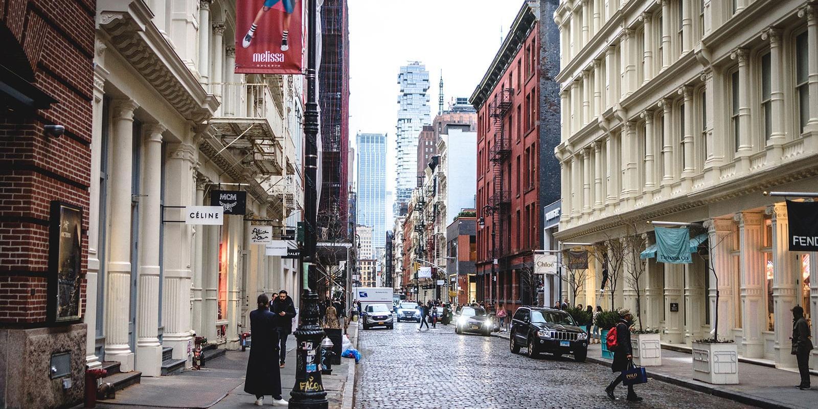 أفضل مراكز التسوق في SoHo نيويورك