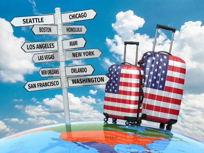 الولايات الاكثر جذباً للأمريكيين في 2021