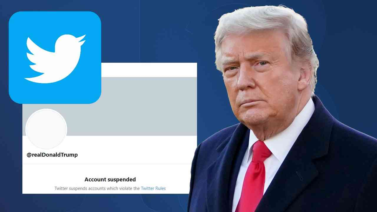 ترامب يرفع دعوى قضائية للعودة الى تويتر من جديد