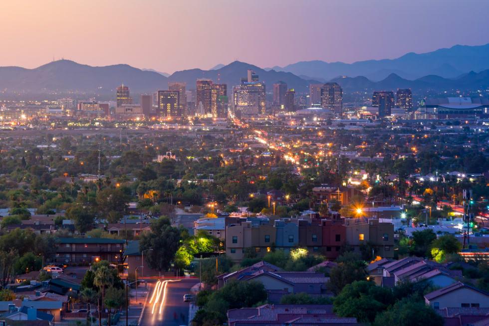 تكلفة المعيشة في ولاية أريزونا لعام 2021