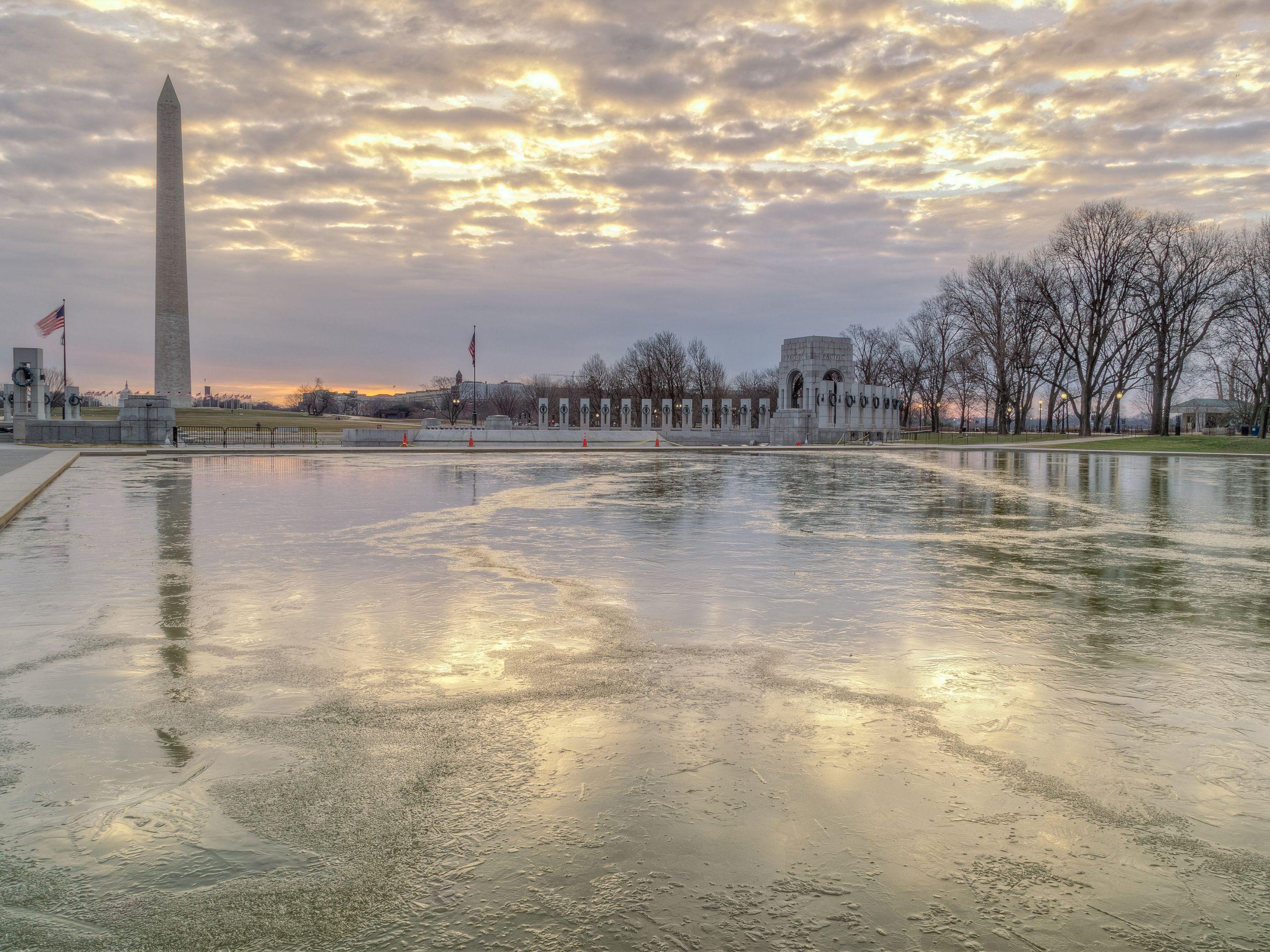 حالة الطقس في واشنطن - السحاب
