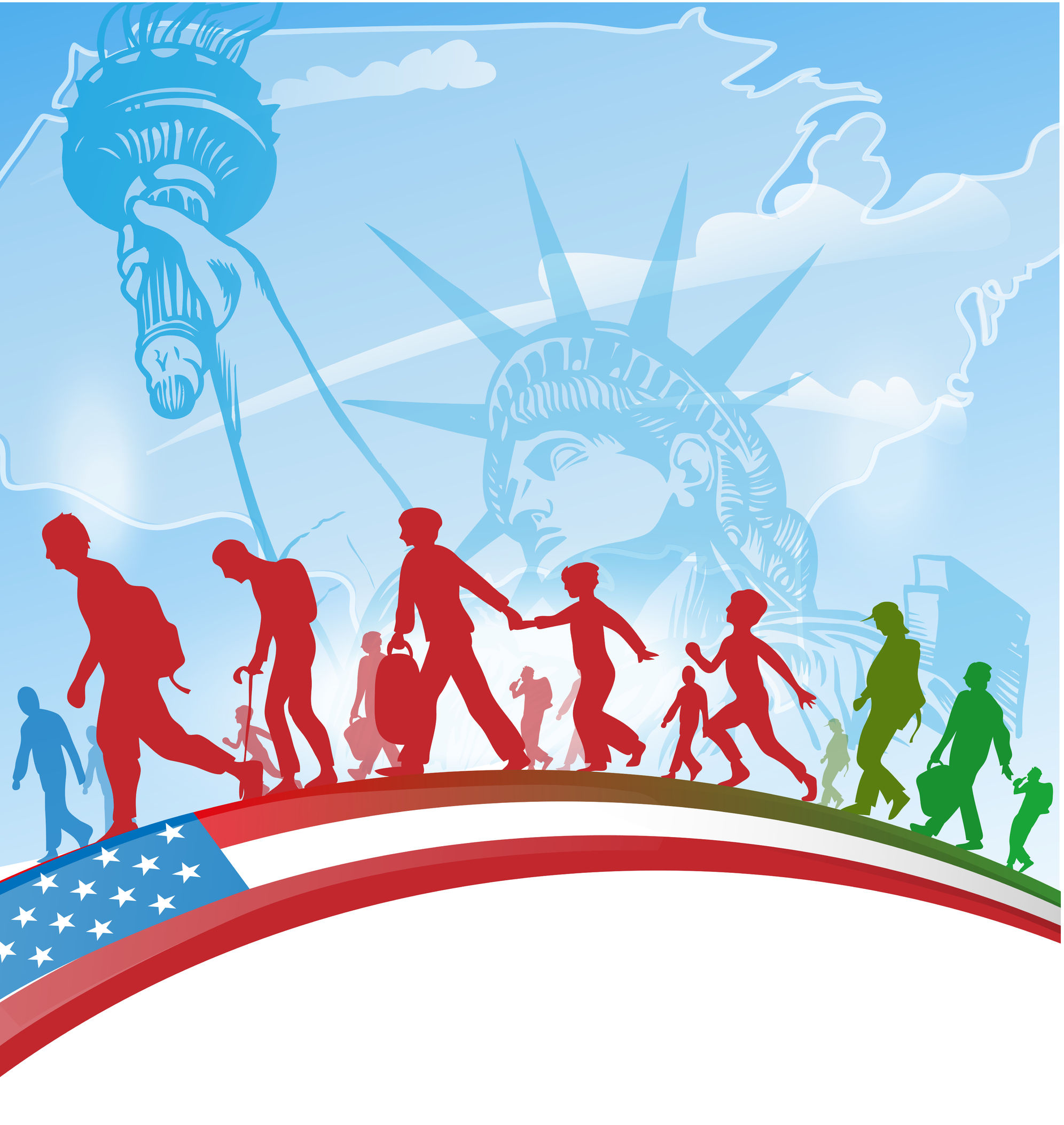 كيفية الحصول على الجنسية بعد الزواج من مواطنه أمريكية