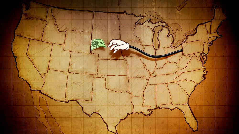 كيفية مقارنة ضرائب الدخل الفيدرالية والمحلية في امريكا 2021