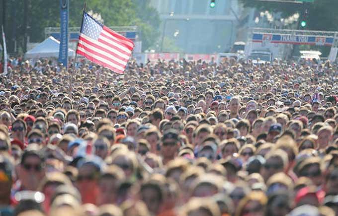 عدد سكان الولايات المتحدة يصل الى 400 مليون في 2067 - تقرير