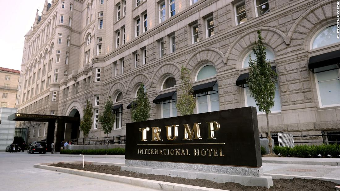 فندق دونالد ترامب في واشنطن يخسر أكثر من 70 مليون دولار خلال فترة الرئاسة