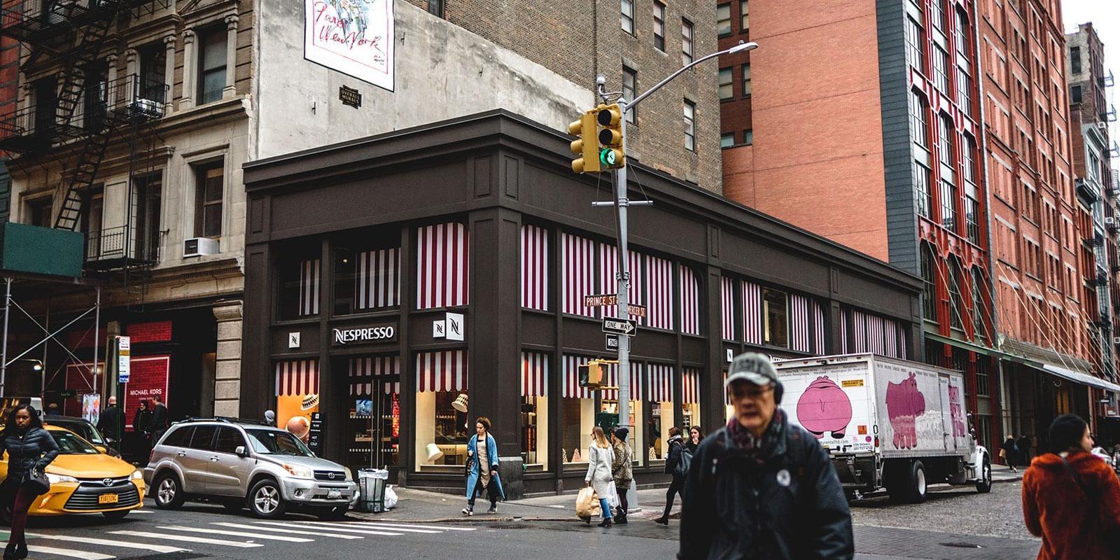 مراكز التسوق في SoHo نيويورك